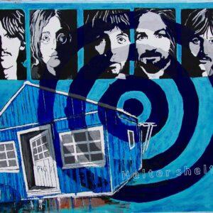 """Helter Shelter"" Beatles/ Manson - serie. (Akryl på Lærred)  2013."